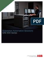 1kha001069 Sen Substation Automation Solutions Sas 600 Series