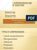 Six Types of Comprehension