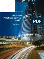 Valuation Practices Survey 2013 v3