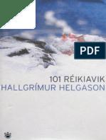 101 Réikiavik - Hallgrímur Helgason