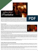 The Practice of Trataka - Sanskriti - Indian Culture