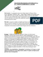 Досуг в Алжире