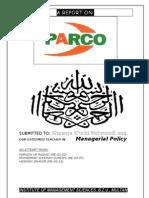 Parco Report (FINAL)