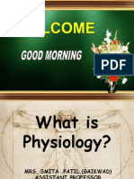 Introduction & What is Physiology