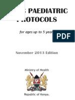 Paediatric Procotols November 2013