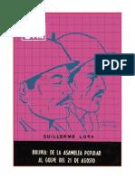 Bolivia- De La Asamblea Popular