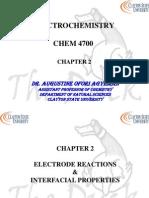 Cyclic Voltametry