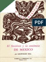 El Occidente y La Conciencia de México
