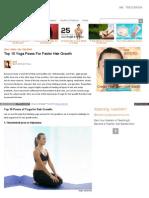 Yoga Asanas healthy