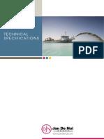 Technical Specifications TSHD Jan de Nul