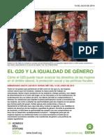 G20 Igualdad de Género