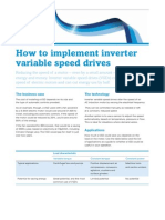 How to Implement Inverter Variable Speed Drives