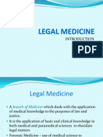 Legal Medicine Introduction