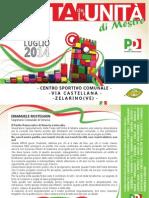 Festa Dell'Unità Mestre 2014