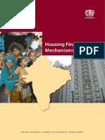 Housing Finance Mechanisms in India