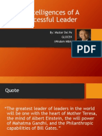 5 Intelligences of Successful Leaders
