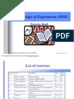 DOE Exercise Book