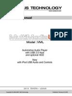 Manual VML v2010 Multimedia LinkQ