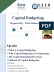 Capital Budgeting presentation