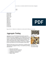 Methods of Chemical Analysis of Aggregates