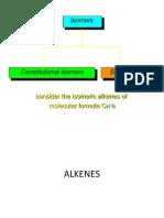 alkenes E Z