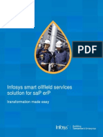 Infosys smart oilfIeld services solution for sap erp