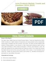 Global Cocoa and Cocoa Products Market