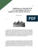 Las Letras Rioplatenses en El Período de La Ilustración