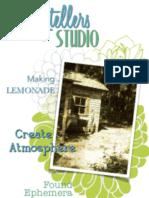 Storytellers Studio - Found Ephemera