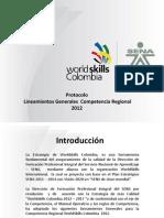 DF WSC Lineamientos Competencia Regional 2012