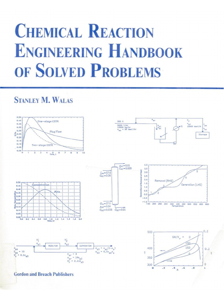 Chemical Reaction Engineering Handbook of Solved Problems ...