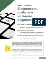 Linguagens_Codigos_unid2_Linguagem, Cultura e Variação Linguistica