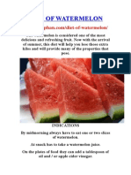 Diet of Watermelon- http://praphan.com/diet-of-watermelon/