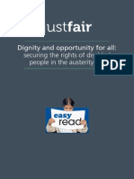 Dignity Opportunity for All - Easy Read