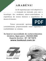 Manual Ômega 7025