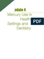 UNEP Hazards of Mercury Healthcare Module