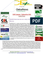 14th July,2014 Daily Global & Exclusive ORYZA E-Newsletter by Riceplus Magazine