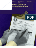 Business Guide for Reducing Solid Waste