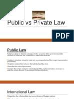 public vs private law