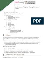Mrunal Summary of DST Report_ Vigyan Prasar, International Collaborations