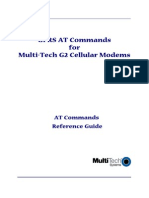 GPRS at Commands for Multi-Tech G2 Cellular Modems - Reference Guide - RevC 07-30-2010