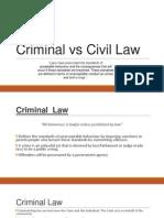 civil v criminal law