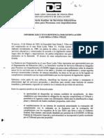 Informe Ejecutivo Sentencia Por Estipulacion Caso Rosa Lydia Velez
