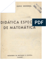 didatica especial matematica