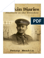 The Meakin Diaries - Sheffield In The Trenches by Penny Meakin