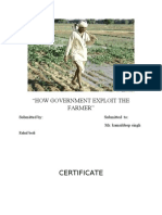 project on government explore farmer