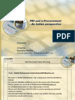 01 - Usage of PKI in E-Procurement - Mr. J S Kochar