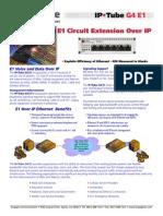 IPTube G4 E1 Brochure