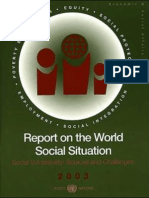 Report on the World Social Situation 2003 (United Nations)