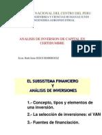Analisis de Inversiones Ppt